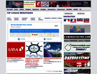 camerounlink.net screenshot