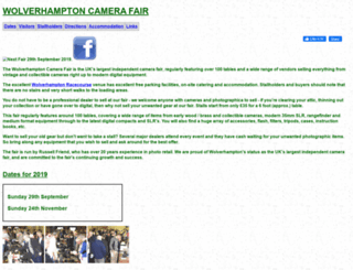 camfair.co.uk screenshot