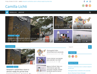 camillalichti.com.br screenshot