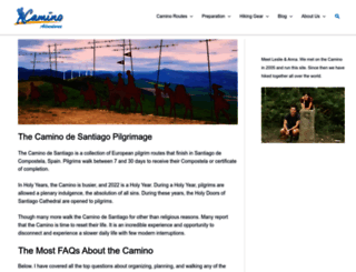 caminoadventures.com screenshot