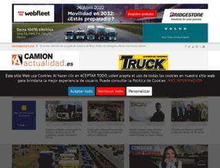 camionactualidad.es screenshot
