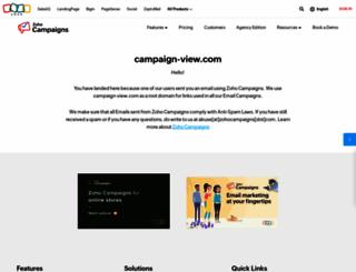 campaign-view.com screenshot
