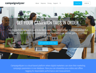 campaignalyzer.com screenshot