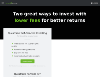 campaigns.questrade.com screenshot
