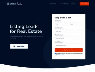 campaigns.smartzip.com screenshot