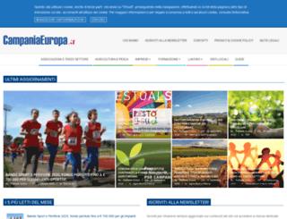 campaniaeuropa.it screenshot
