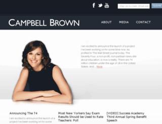 campbellbrown.com screenshot