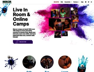 campcollege.mccc.edu screenshot