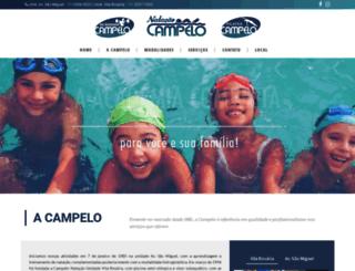 campelonatacao.com.br screenshot