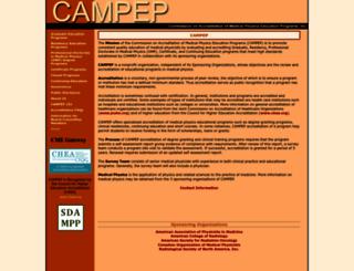 campep.org screenshot