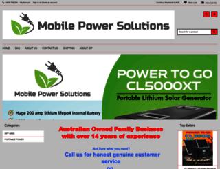 camperledaustralia.com.au screenshot