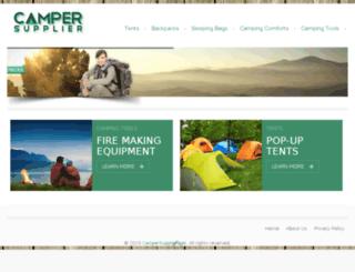 campersupplier.net screenshot
