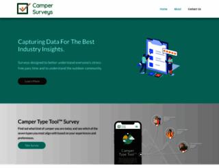 campersurveys.com screenshot