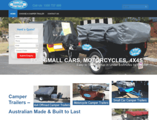 campertrailerstore.com.au screenshot