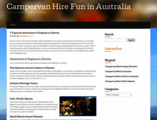 campervanfun.wordpress.com screenshot
