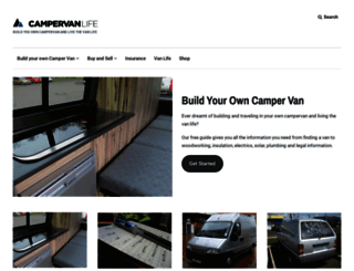 campervanlife.com screenshot