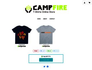 campfirejp.thebase.in screenshot