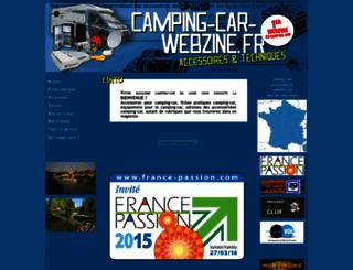 camping-car-webzine.fr screenshot