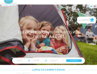 camping-lacailletiere.com screenshot