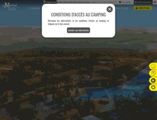 camping-marisol.com screenshot