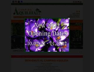 campingaquileia.it screenshot