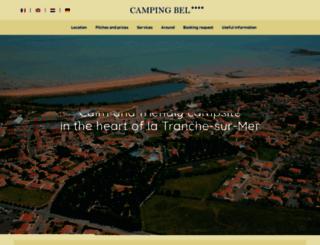 campingbel.com screenshot