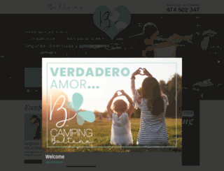 campingboltana.com screenshot