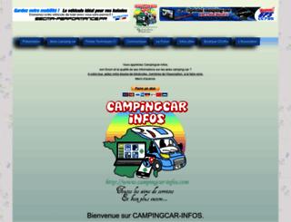 campingcar-infos.com screenshot