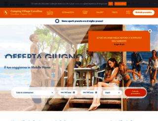 campingcavallino.com screenshot