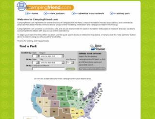 campingfriend.com screenshot