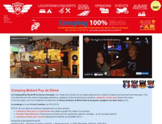 campingmotoroute99.com screenshot