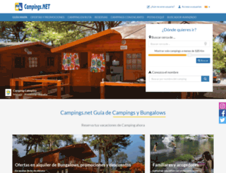 campings.net screenshot