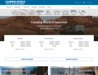 campingworldofflagstaff.com screenshot