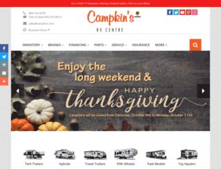 campkins.com screenshot
