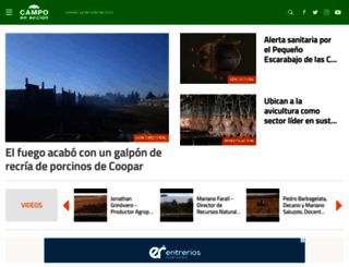 campoenaccion.com screenshot