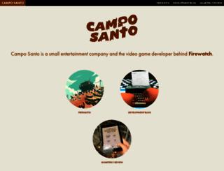 camposanto.com screenshot