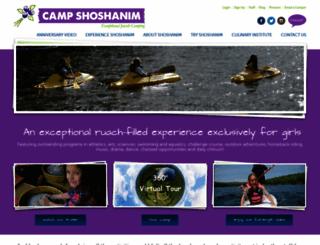 campshoshanim.org screenshot