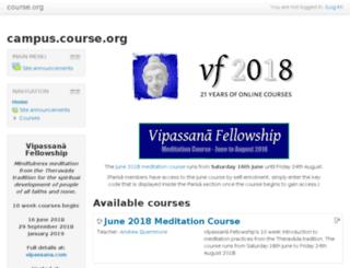 campus.course.org screenshot