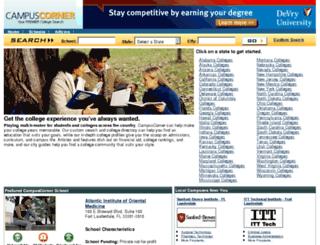 campuscorner.com screenshot