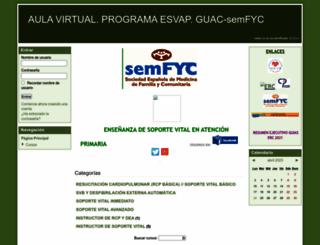 campusguacsemfyc.es screenshot
