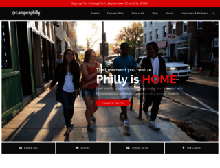 campusphilly.org screenshot