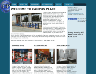 campusplace.co.ke screenshot