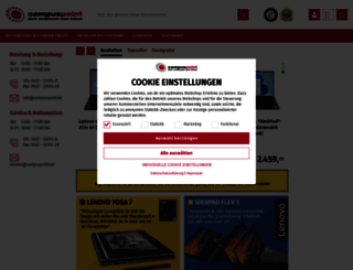 campuspoint.de screenshot