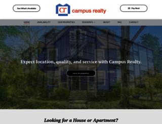 campusrealty.com screenshot
