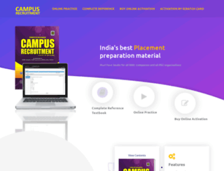 campusrecruitment.co.in screenshot