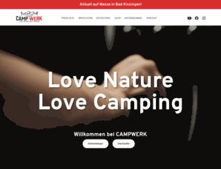campwerk.de screenshot