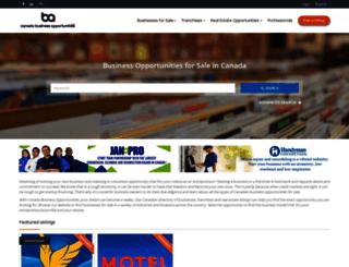 canada-businessopportunities.ca screenshot