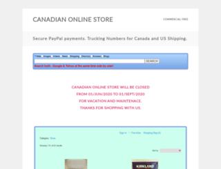 canada-store.com screenshot