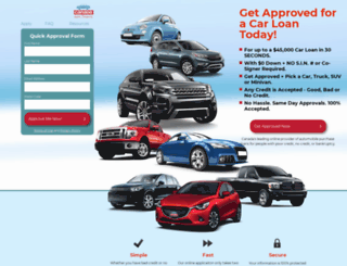 canadaautofinance.ca screenshot