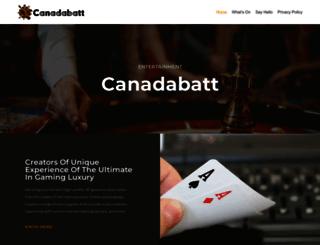 canadabatt.com screenshot